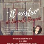 """Giornata della poesia: """"Il Mostro"""" a Siviglia"""