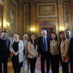 """Andrea Riccardi incontra alla Dante i fondatori della """"Scuola Italiana di Tirana"""""""