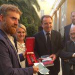 Premio Strega: Cognetti incontra i soci Dante a Benevento