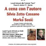 Incontri con l'autore a Gorizia: Cassano e Sosič