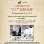Mostra fotografica ¡Que viva México!