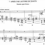 Dante sonata di Franz Lisz (a Trani)