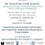 In viaggio con Dante: 24 maggio, presentazione a Palermo