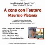 Incontri con l'autore: a cena con Maurizio Platania
