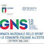 Prima Giornata nazionale dello sport presso le comunità italiane all'estero