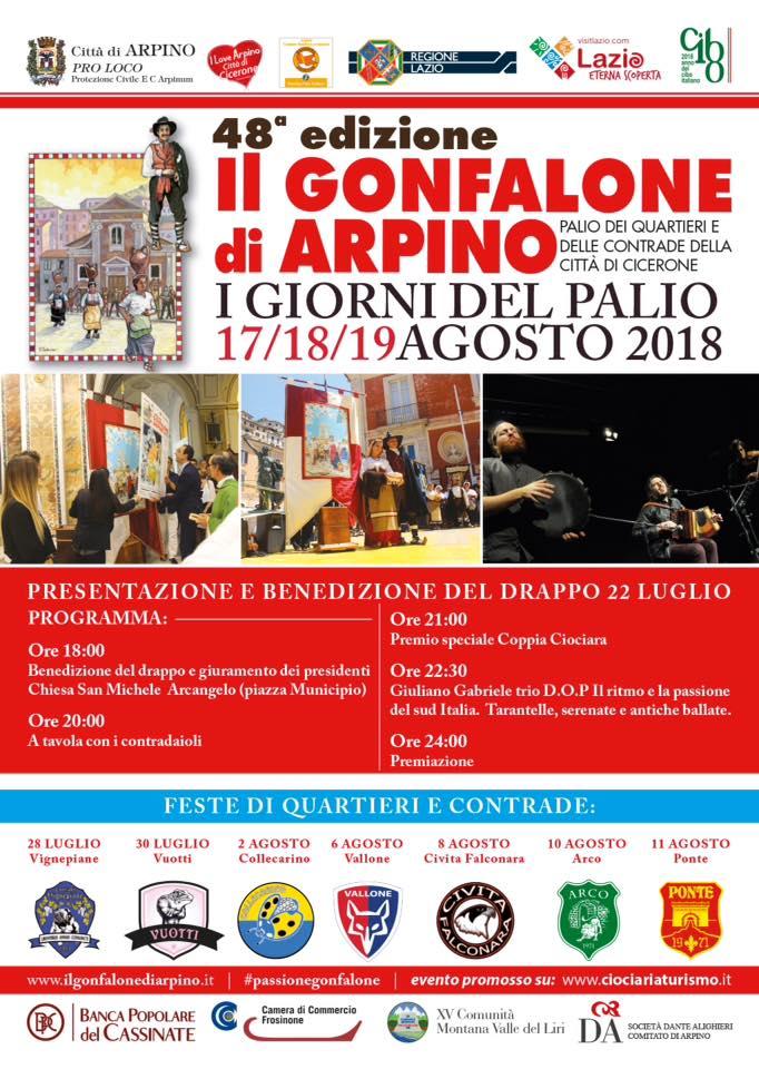 Gonfalone 2018
