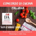 Dante Moron: concorso per la settimana della cucina italiana (scade il 15/11)