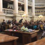 Masi a Reggio Emilia: onorificenza a Edmea Sorrivi