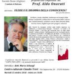 """""""Canto per canto"""": Aldo Onorati a Bolzano"""