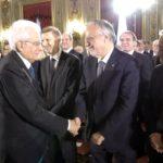Il Presidente della Repubblica Sergio Mattarella incontra i partecipanti agli Stati generali della lingua italiana