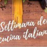 Terza Settimana della cucina italiana