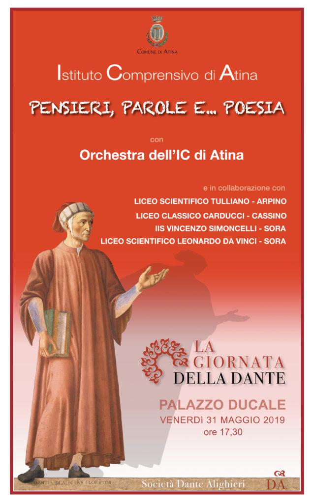 Locandina Giornata della Dante
