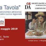 Giornata della Dante. L'Italia a tavola