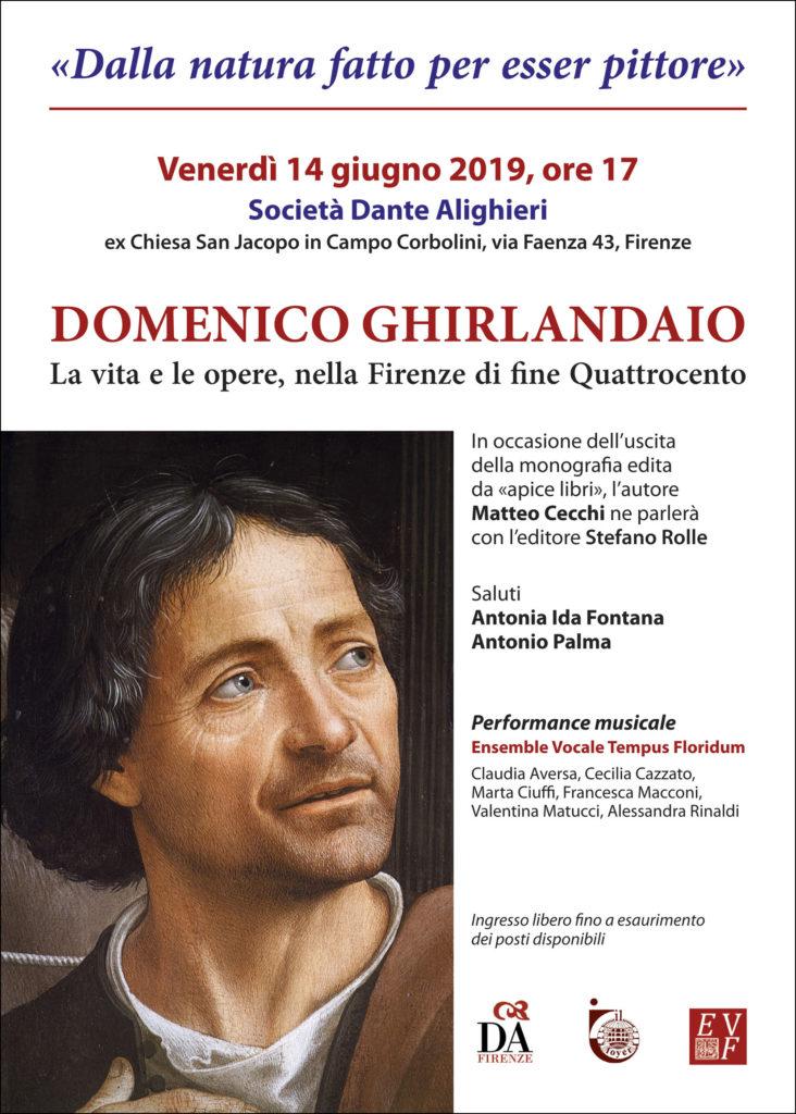Locandina Ghirlandaio a San Jacopo