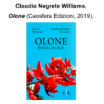 "Claudio Negrete Williams presenta il volume ""Olone"""