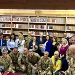 Libano, Salvatore Ulisse di Palma presenta il suo nuovo libro nella Biblioteca della Pace