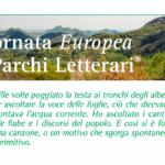 Domenica 20 ottobre è la Giornata Europea dei Parchi Letterari