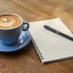 Caffè letterario con i grandi letterati italiani