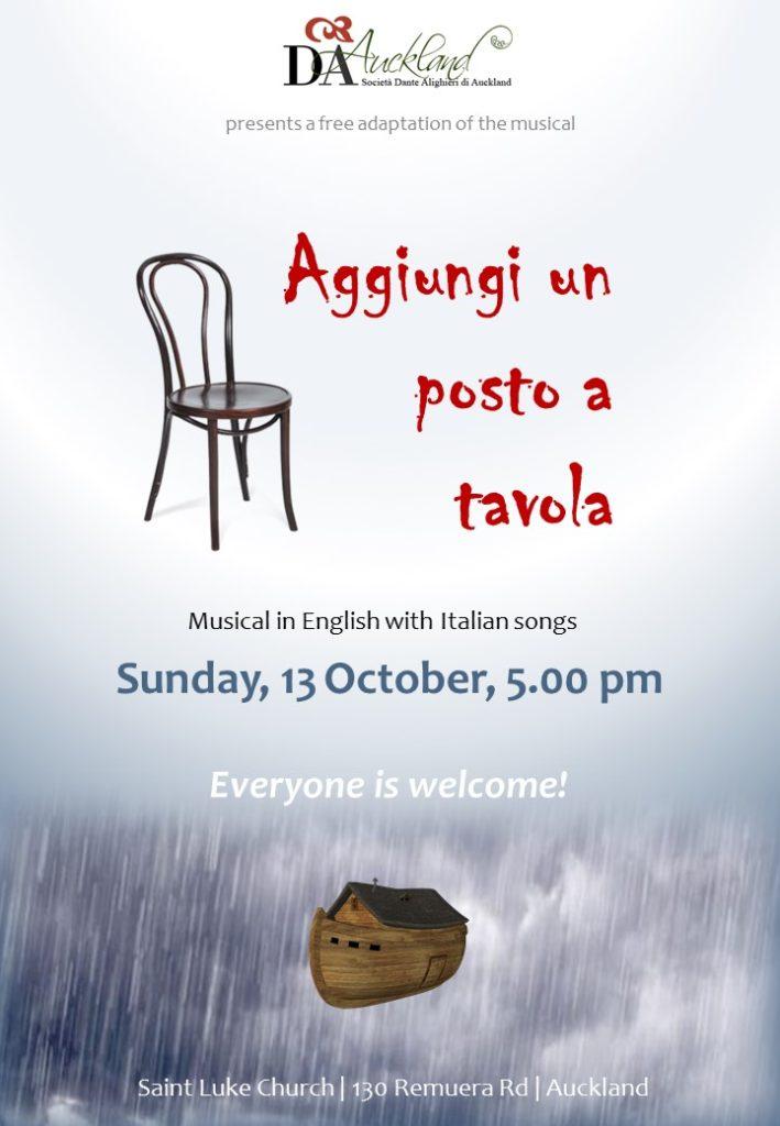 Poster Aggiungi un posto a tavola