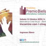 I finalisti del Premio Biella Letteratura e Industria