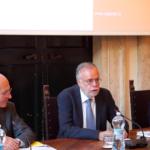 """VIDEO Nando Pagnoncelli presenta a Palazzo Firenze """"La penisola che non c'è"""""""