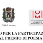 Bando per il nuovo Premio di Poesia Città di Arpino