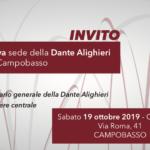 Una nuova sede per il Comitato Dante di Campobasso
