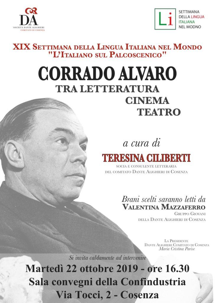 locandina Corrado Alvaro  Ciliberti