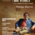 """""""Leonardo, la libertà del fare"""" con Philippe Daverio"""