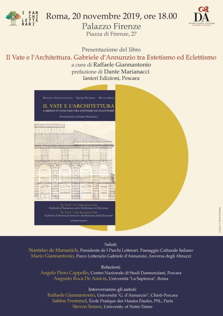 Il Vate e l'Architettura