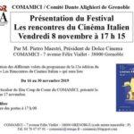 Cinema italiano a Grenoble