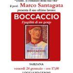 """Marco Santagata presenta """"Boccaccio"""" a Sarzana"""