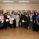 L'Amb. Enrico Valvo visita la Dante di Tbilisi