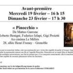 Proiezione di Pinocchio a Grenoble