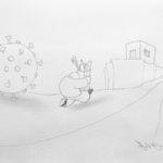 L'arte ai tempi del Coronavirus. La mostra in condominio di Domenico Dell'Osso