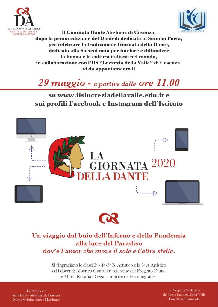 GIORNATA DELLA DANTE 2020