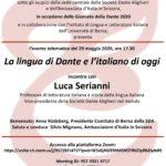 Giornata della Dante a Berna con Luca Serianni