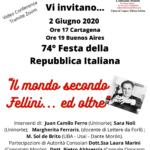 """""""Il mondo secondo Fellini…ed oltre""""."""