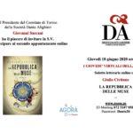 A Torino Giulio Civitano con La Repubblica delle Muse