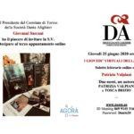 Per I Giovedì virtuali della Dante di Torino: Patrizia Valpiani