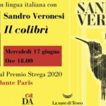 Lo Strega alla Dante di Parigi. Incontro con Sandro Veronesi