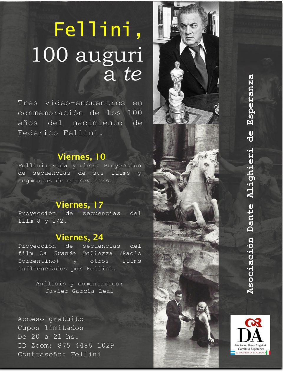 Fellini, 100 auguri a te