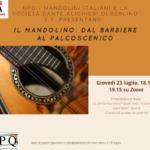 La storia del mandolino online alla Dante di Berlino