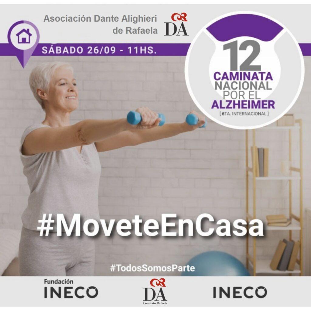 12 Caminata por el Alzheimer. Rafaela iNECO 2020