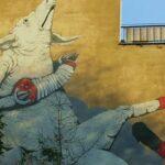 L'italiano tra parola e immagine: graffiti, illustrazioni, fumetti | Blu ed Ericailcane tra Polonia e Italia