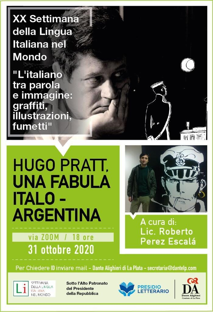 La Plata   Settimana della Lingua, Fabula italo argentina [31 10 2020]