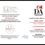 Dante_social a Torino per la SLIM2020