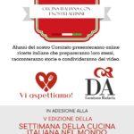 Cucina italiana con i nostri alunni