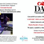 Torino, incontro con Mario Parodi e Franco Canavesio