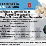 Inaugurazione della nuova sede del Parco Letterario Pier Maria Rosso di San Secondo